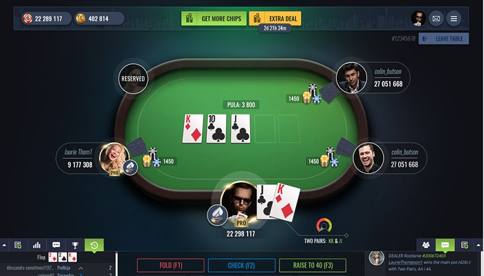 game bai poker online
