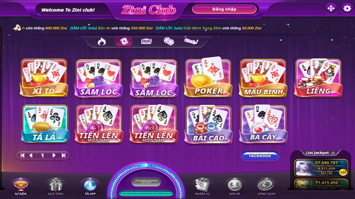 game bai zini club