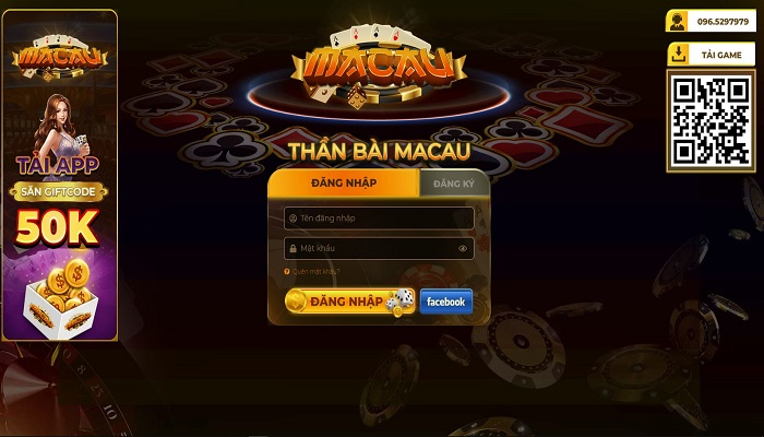 game bai dan gian doi thuong macau club